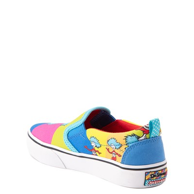 Alternate view of Skechers x Dr. Seuss Marley Jr. Things Ran Up Slip On Sneaker - Little Kid - Multicolor