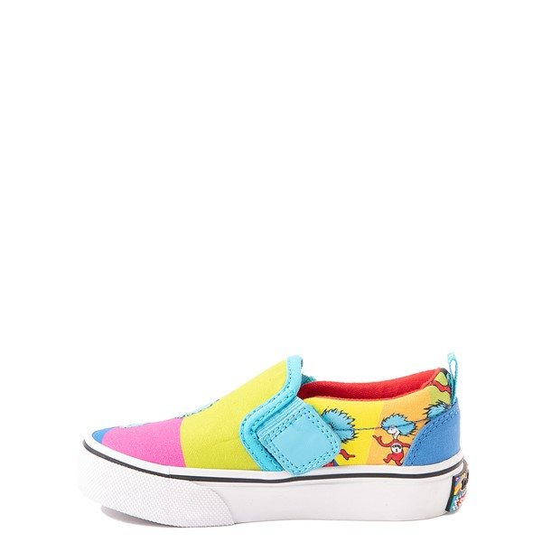 alternate view Skechers x Dr. Seuss Marley Jr. Things Ran Up Slip On Sneaker - Toddler - MulticolorALT1