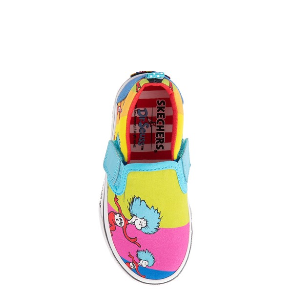 alternate view Skechers x Dr. Seuss Marley Jr. Things Ran Up Slip On Sneaker - Toddler - MulticolorALT2