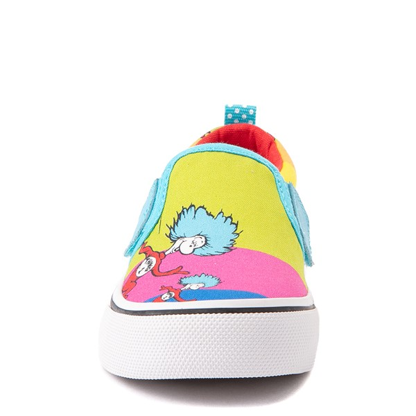 alternate view Skechers x Dr. Seuss Marley Jr. Things Ran Up Slip On Sneaker - Toddler - MulticolorALT4