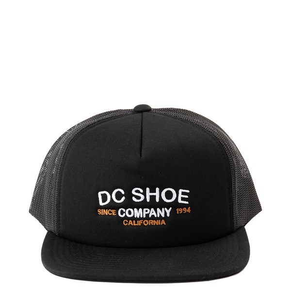 Main view of DC Outdoorsy Trucker Cap - Black