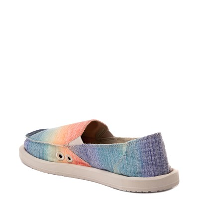 Alternate view of Womens Sanuk Donna Shave Ice Slip On Casual Shoe - Hawaiian Rainbow