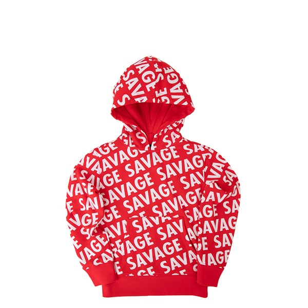 Main view of Savage Hoodie - Toddler - Red