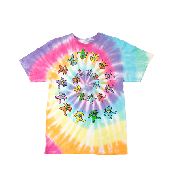 alternate view Womens Grateful Dead Marching Bears Tee - Tie DyeALT2