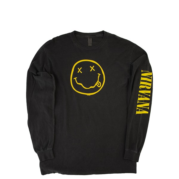Womens Nirvana Long Sleeve Tee - Black