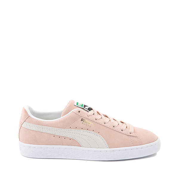 Main view of Womens Puma Suede Athletic Shoe - Peachskin