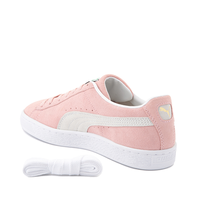 Alternate view of Womens Puma Suede Athletic Shoe - Peachskin