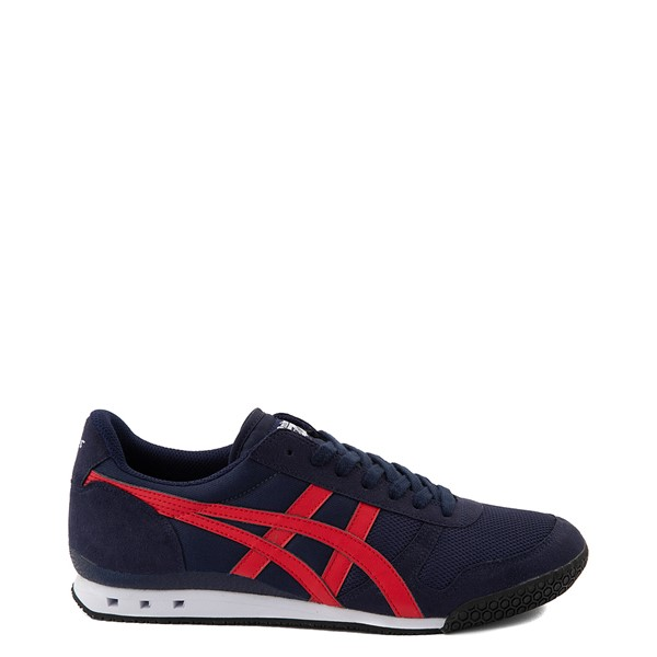 Main view of Mens Onitsuka Tiger Ultimate 81 Athletic Shoe - Peacoat / Red
