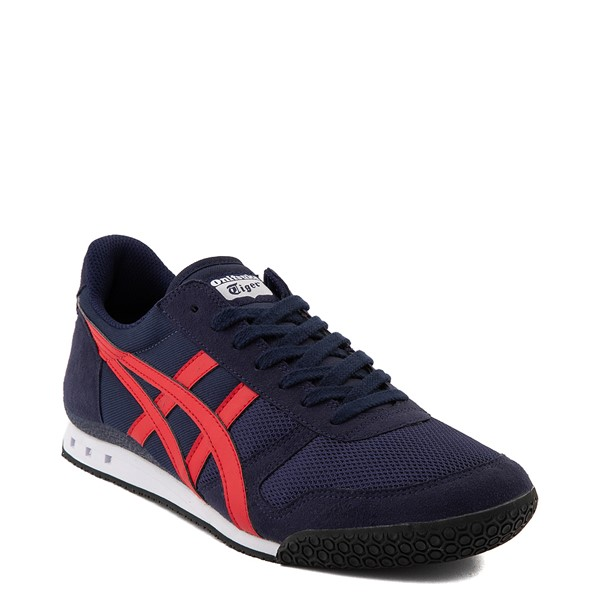 alternate view Mens Onitsuka Tiger Ultimate 81 Athletic Shoe - Peacoat / RedALT5