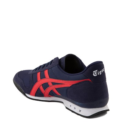Alternate view of Mens Onitsuka Tiger Ultimate 81 Athletic Shoe - Peacoat / Red