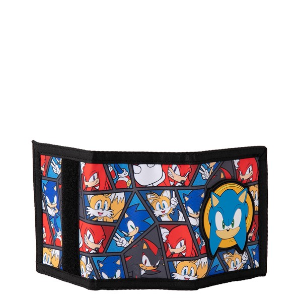 alternate view Sonic the Hedgehog™ Tri-Fold Wallet - Black / MulticolorALT2