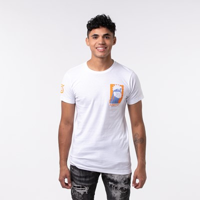 Alternate view of Mens Naruto Hero Of The Hidden Leaf Tee - White