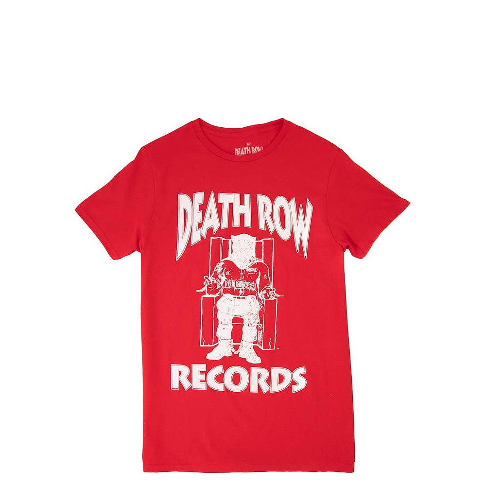 Mens Death Row Records Tee - Red