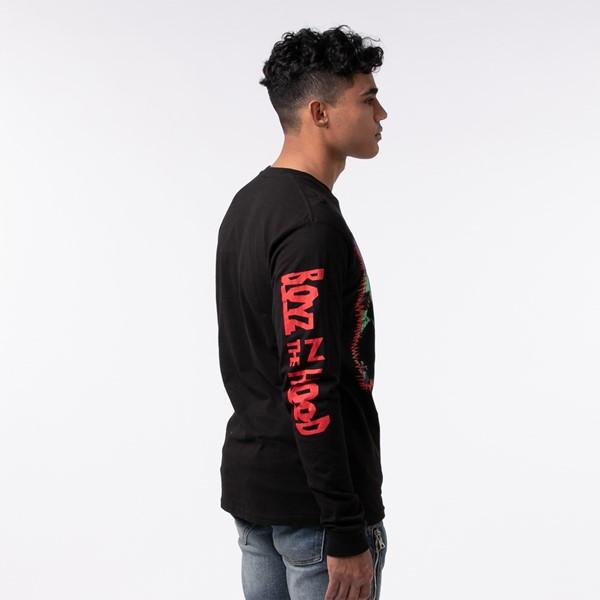 alternate view Mens Boyz N The Hood Long Sleeve Tee - BlackALT2