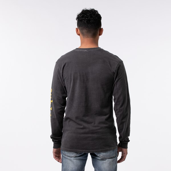 alternate view Mens Sublime Long Sleeve Tee - Dark GrayALT1