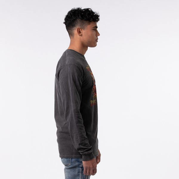 alternate view Mens Sublime Long Sleeve Tee - Dark GrayALT2
