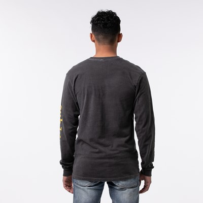 Alternate view of Mens Sublime Long Sleeve Tee - Dark Gray