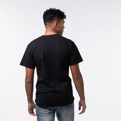 Alternate view of Mens Fila Oakmont Hookup Norm Tee - Black
