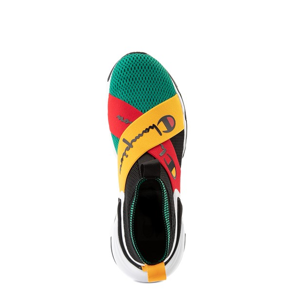 alternate view Mens Champion Hyper C X Athletic Shoe - Black / Scarlet / GoldALT4B