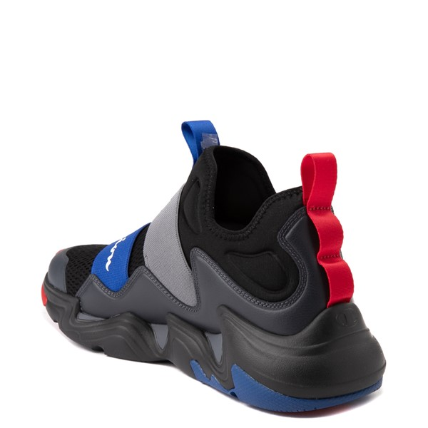 alternate view Mens Champion Hyper C Equal Athletic Shoe - Black / Stealth GrayALT1
