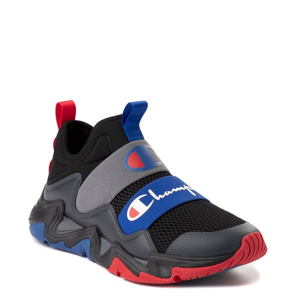 alternate view Mens Champion Hyper C Equal Athletic Shoe - Black / Stealth GrayALT5