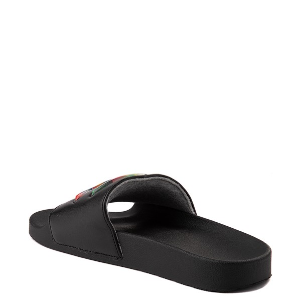 alternate view Womens Champion IPO Jellie Slide - Black / MulticolorALT2