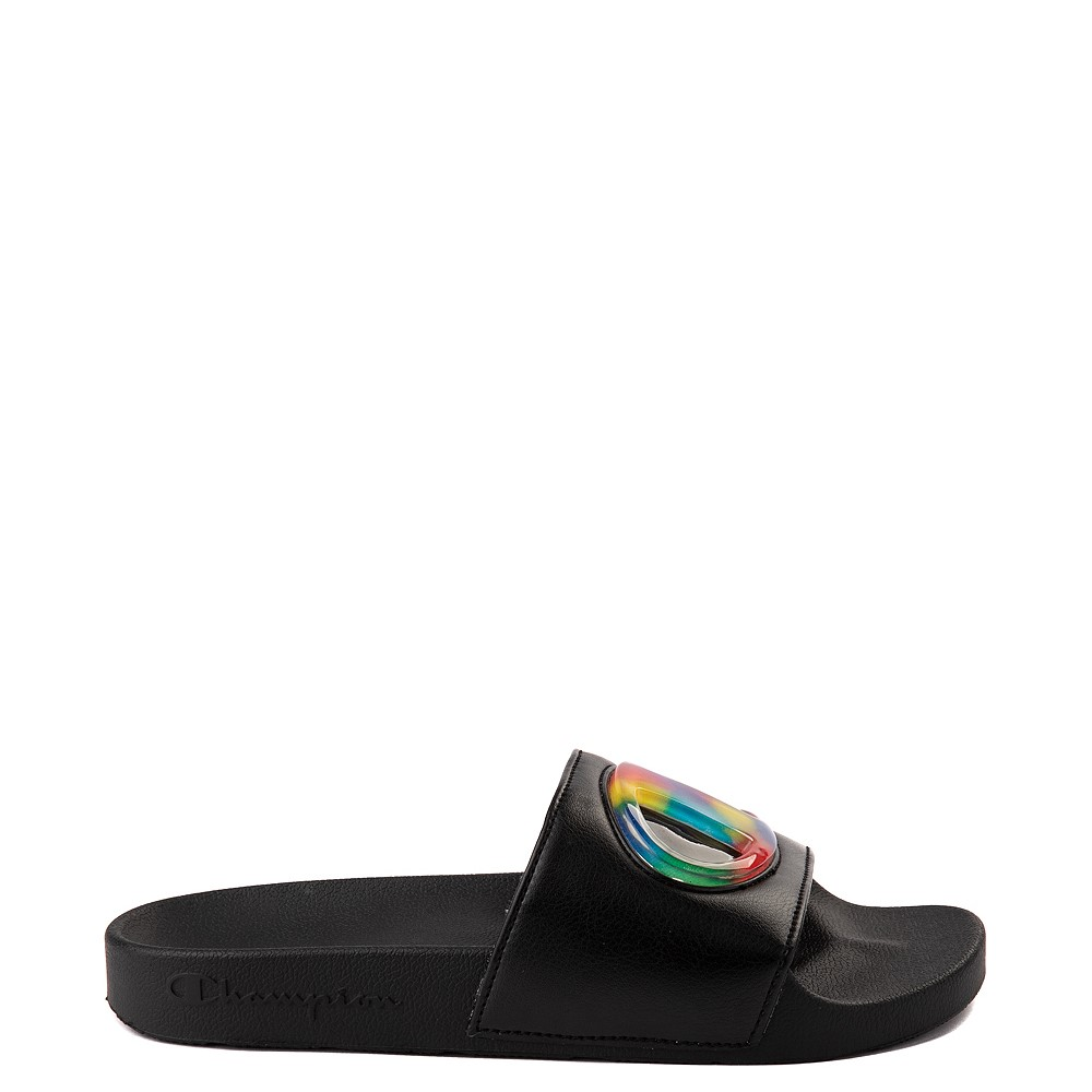 Womens Champion IPO Jellie Slide - Black / Multicolor