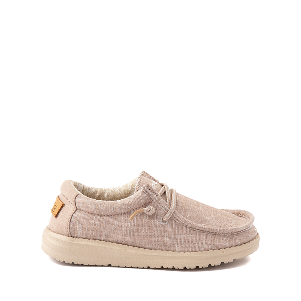 Main view of Hey Dude Wally Casual Shoe - Little Kid / Big Kid - Beige