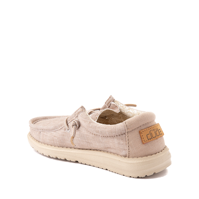 Alternate view of Hey Dude Wally Casual Shoe - Little Kid / Big Kid - Beige