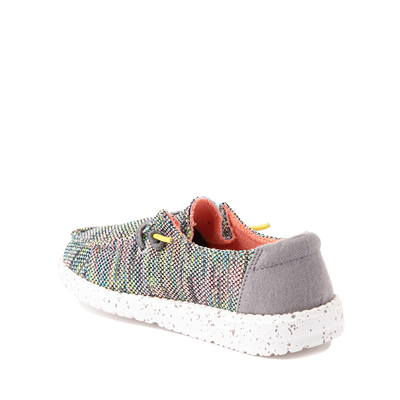 Alternate view of Hey Dude Wendy Slip On Casual Shoe - Little Kid / Big Kid - Peacock Pink
