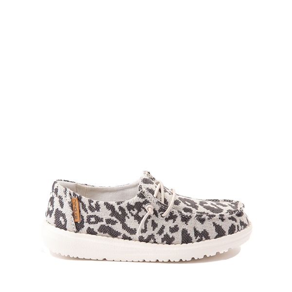 Main view of Hey Dude Wendy Slip On Casual Shoe - Little Kid / Big Kid - Leopard