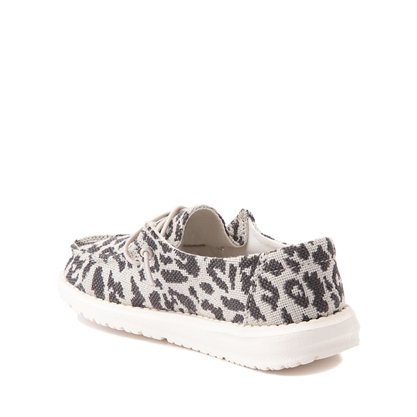 alternate view Hey Dude Wendy Slip On Casual Shoe - Little Kid / Big Kid - LeopardALT1