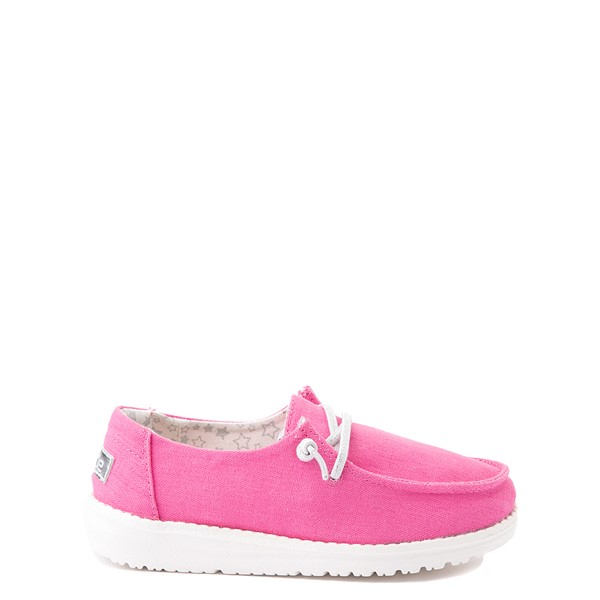 Hey Dude Wendy Slip On Casual Shoe - Little Kid / Big Kid - Fuchsia