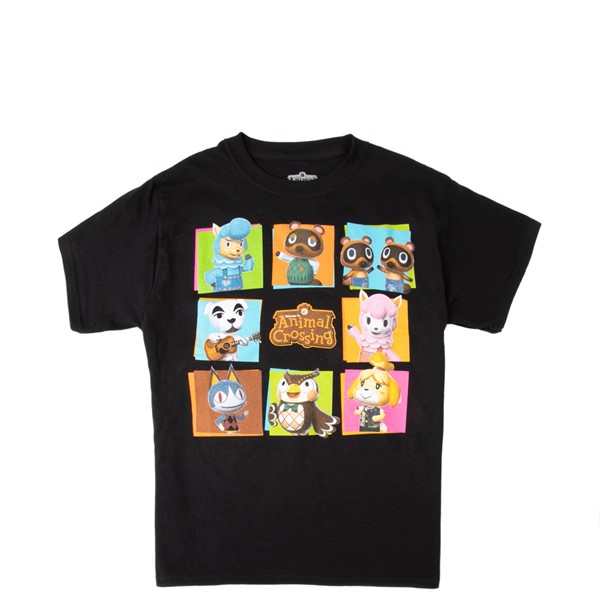 Main view of Animal Crossing Tee - Little Kid / Big Kid - Black