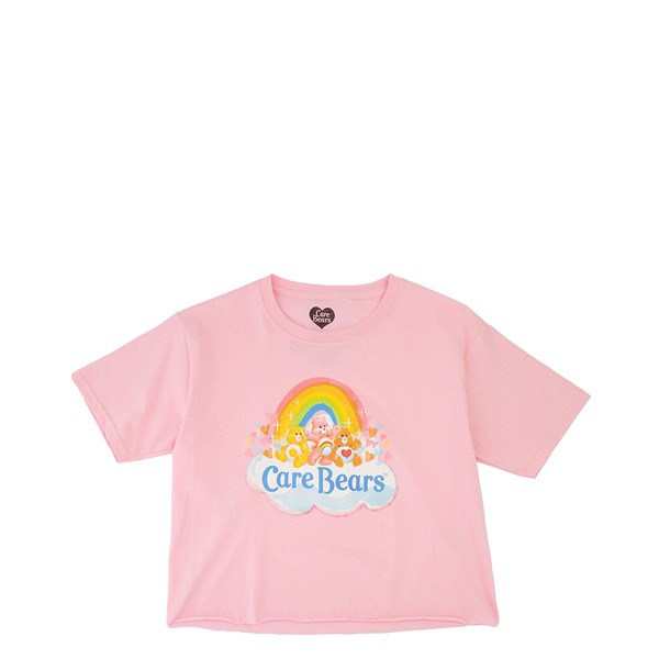Main view of Care Bears Cropped Tee - Little Kid / Big Kid - Pink