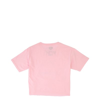 Alternate view of Care Bears Cropped Tee - Little Kid / Big Kid - Pink