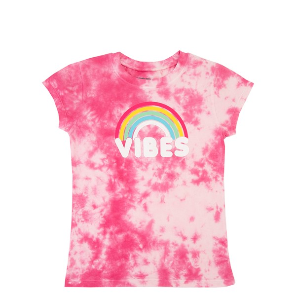 Rainbow Vibes Tee - Little Kid / Big Kid - Pink