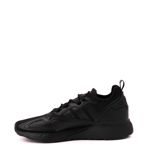 alternate view Mens adidas ZX 2K Boost Athletic Shoe - Black MonochromeALT1