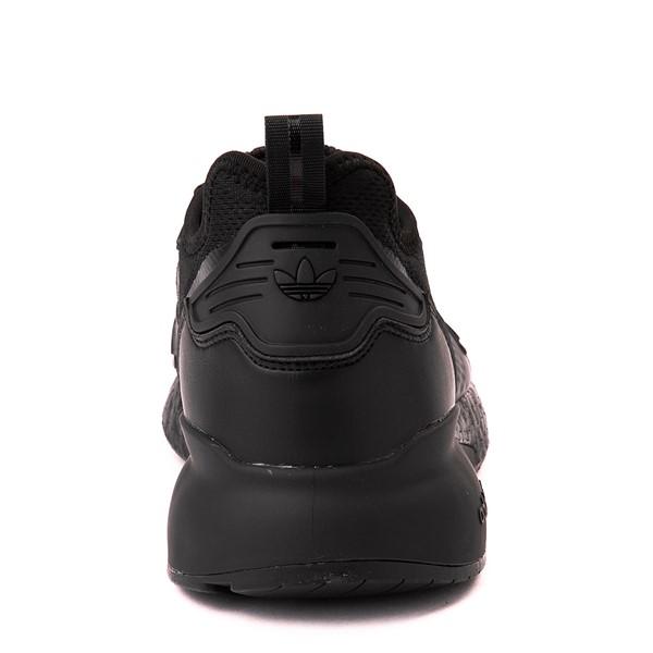 alternate view Mens adidas ZX 2K Boost Athletic Shoe - Black MonochromeALT4