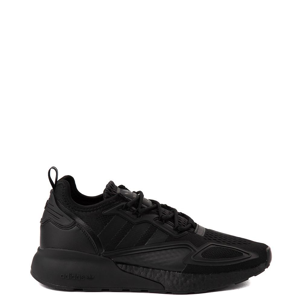 Mens adidas ZX 2K Boost Athletic Shoe - Black Monochrome