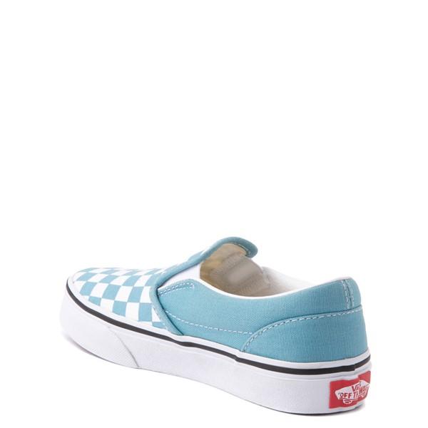 alternate view Vans Slip On Checkerboard Skate Shoe - Little Kid - DelphiniumALT1