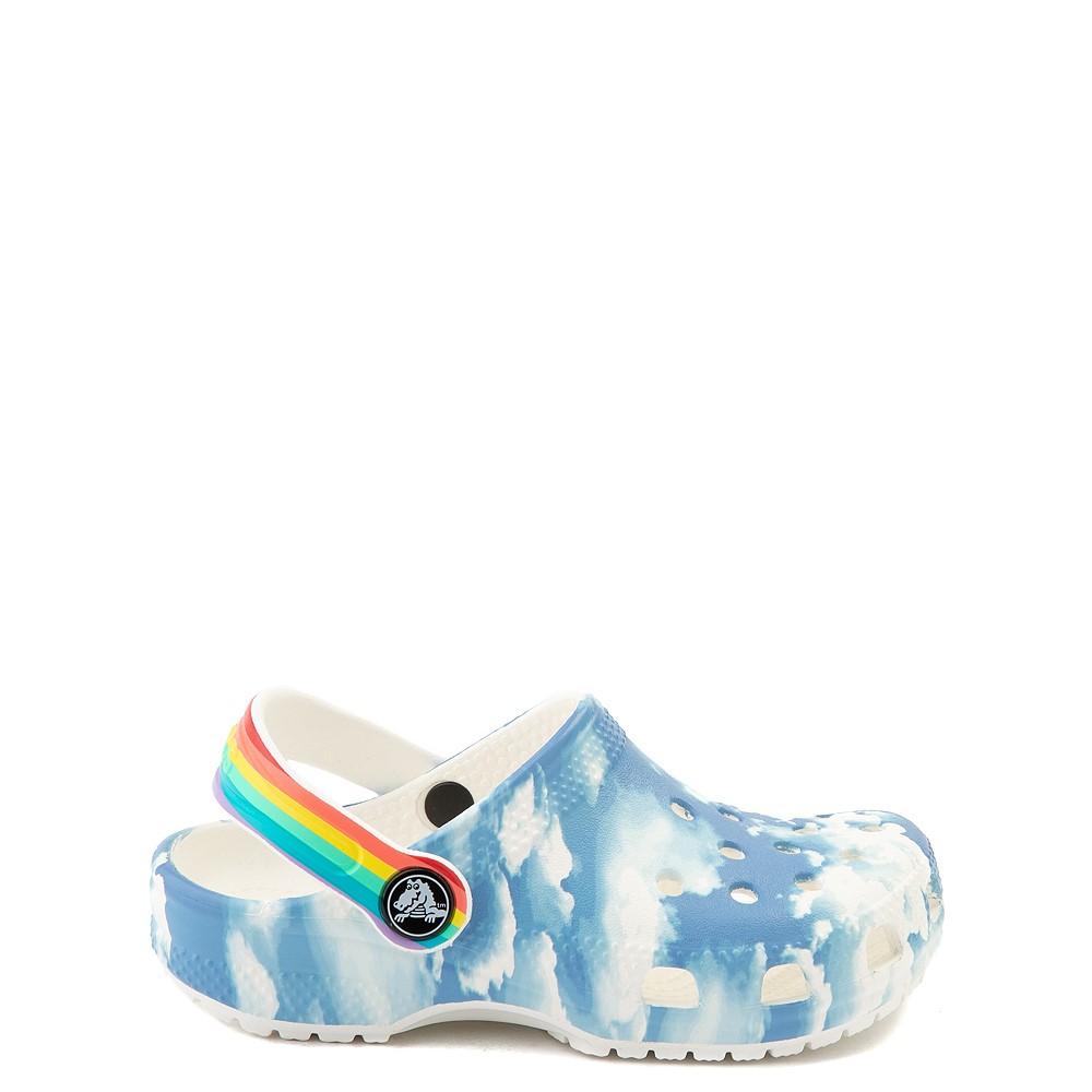 Crocs Classic Clog - Little Kid / Big Kid - Sky / Rainbow