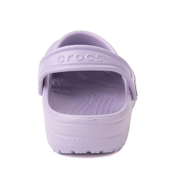 alternate view Crocs Classic Clog - Little Kid / Big Kid - OrchidALT4