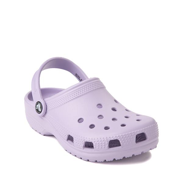 alternate view Crocs Classic Clog - Little Kid / Big Kid - OrchidALT5