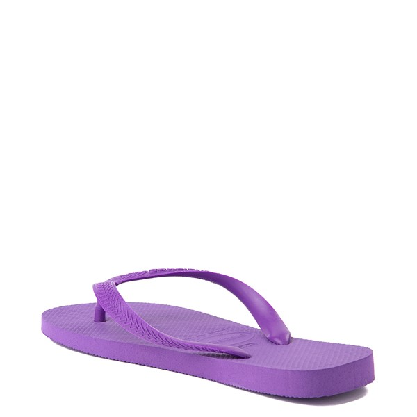 alternate view Havaianas Top Sandal - Dark PurpleALT2