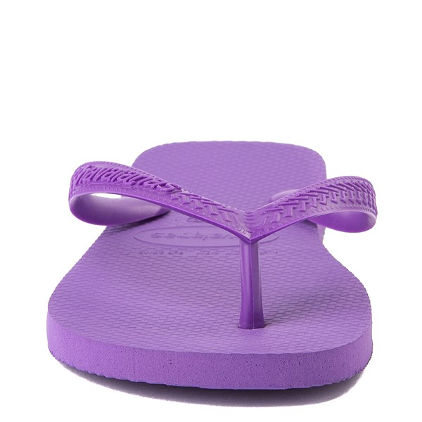 alternate view Havaianas Top Sandal - Dark PurpleALT4