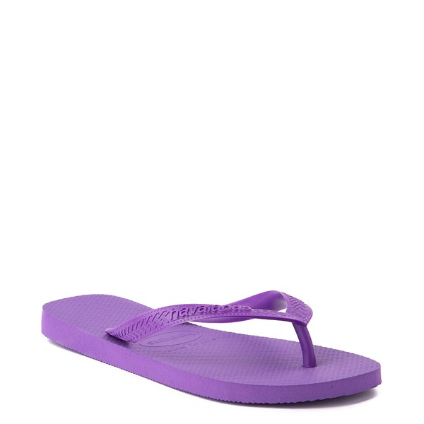 alternate view Havaianas Top Sandal - Dark PurpleALT5