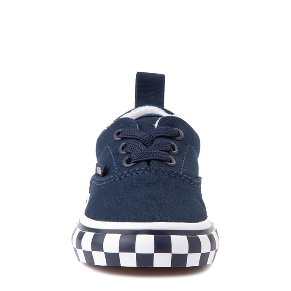 alternate view Vans Era Checkerboard Bumper Skate Shoe - Baby / Toddler - Dress BluesALT4