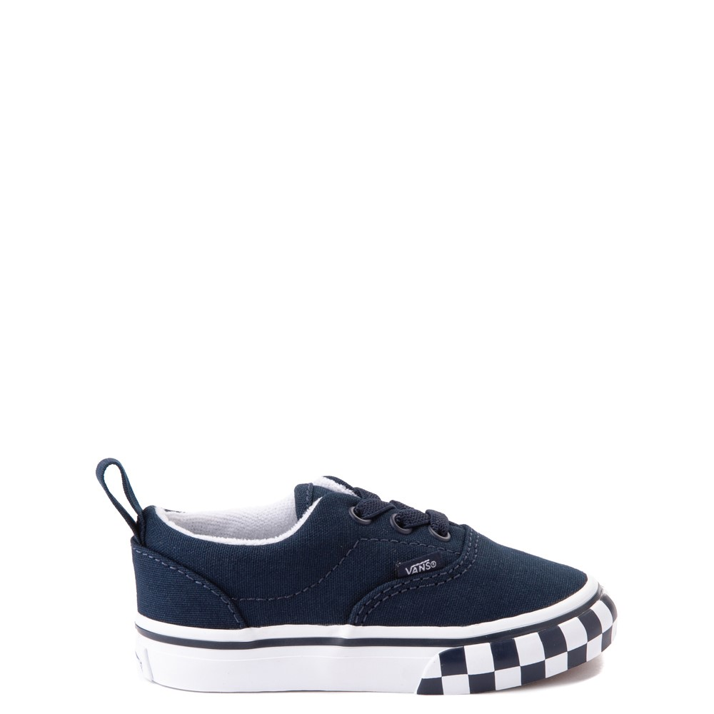 Vans Era Checkerboard Bumper Skate Shoe - Baby / Toddler - Dress Blues