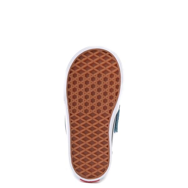 alternate view Vans Slip On V Checkerboard Skate Shoe - Baby / Toddler - DelphiniumALT3